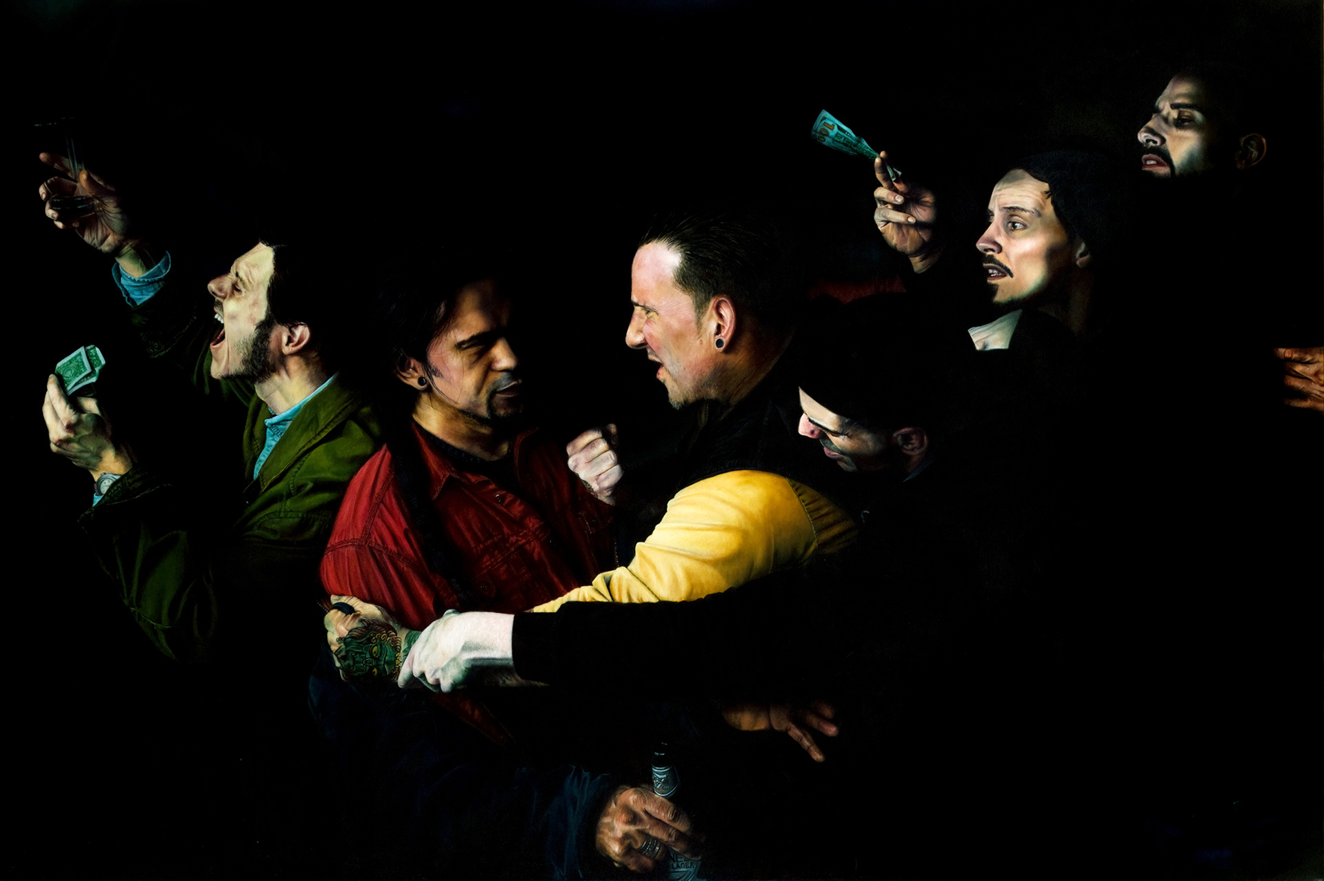 Judas'-Behavior-Russ-Ritell-Oil-Painter
